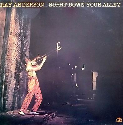 LP Ray Anderson - Right Down Your Alley (Soul Note)