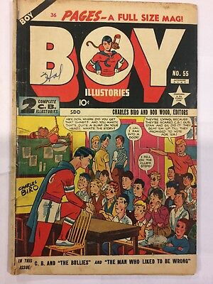 Boy Illustories # 55 (Canada issue) 36 pages