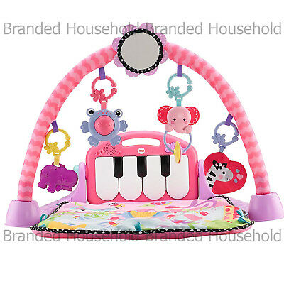 Fisher Price Kick & Play Piano Gym Baby Play Mat Fun Activity Music And Sounds