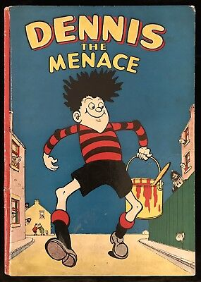 Dennis The Menace Annual 1956 - First One - Beano Book Excitement
