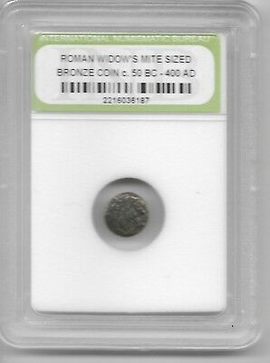 Ancient Widows Mite Roman Jesus Bible God Coin Black Friday Xmas Gift Deals L5