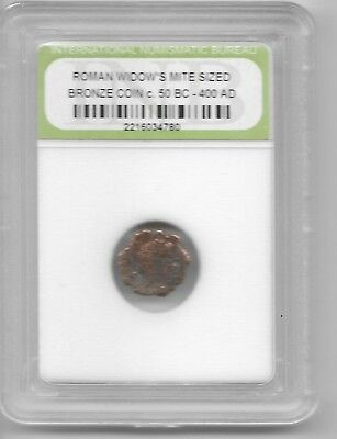 Ancient Widows Mite Roman Jesus Bible God Coin Black Friday Xmas Gift Deals L6