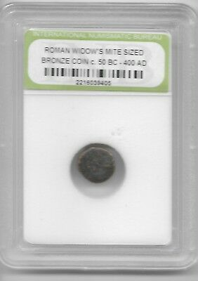 Ancient Widows Mite Roman Jesus Bible God Coin Black Friday Xmas Gift Deals L9