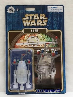 Disney Parks Star Wars Droid R4-H18 Holiday Christmas Figure Server 4+ NEW