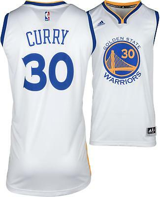893282bae Stephen Curry Golden State Warriors Adidas White Swingman Jersey Size XL