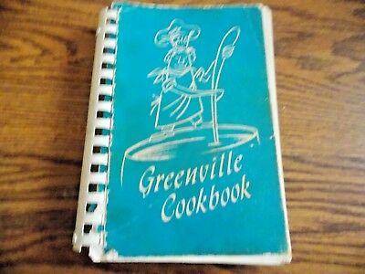 Vintage Greenville Cookbook 1971 The Civic League of Greenville (Penna) Pa