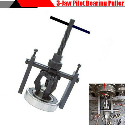 Durable 3-Jaw Pilot Bearing Puller Gear Extractor Install Remove Hand Tool Black