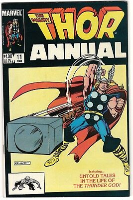 Thor Annual #11 VF (1983, Marvel) 1st Appearance of Eitri.  Infinity War!