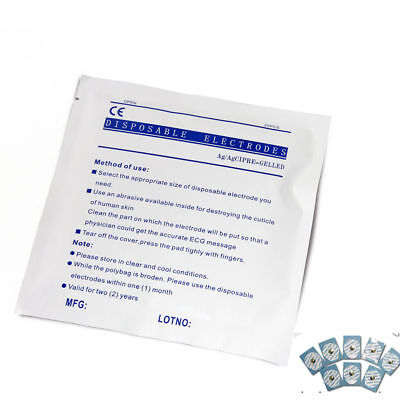US seller Disposable Sticky Electrodes 100PCS5box for ECG,EEG,Patient Monitor