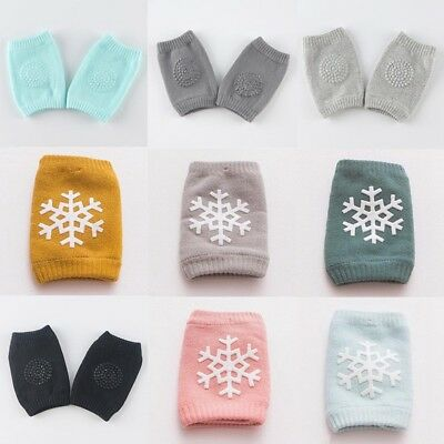 Cute Baby Infant Toddler Soft  Crawling Knee Pads Safety Cushion Protector Legs
