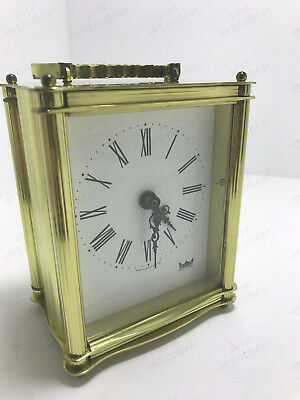 Smiths Astral Carriage Clock - Electro-Mechanical Movement - Fully Working