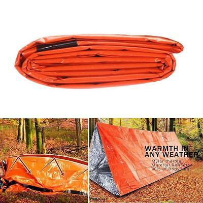 Emergency Sleeping Bag Waterproof Survival Outdoor Camping Travel Reusable Bag