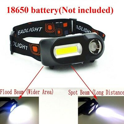 12 COB Led Headlight Camping Fishing Cycling Outdoor Lighting Head Lamp Torch