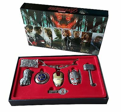 MARVEL | Avengers Age Of Ultron | Schlüsselanhänger Set | Special Edition
