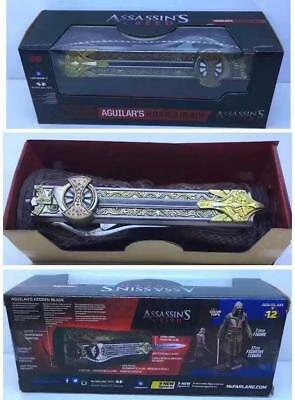 1:1 Assassin's Creed COSPLAY Waffe Prop Aguilar's Hidden Blade TOYS 30cm BOX