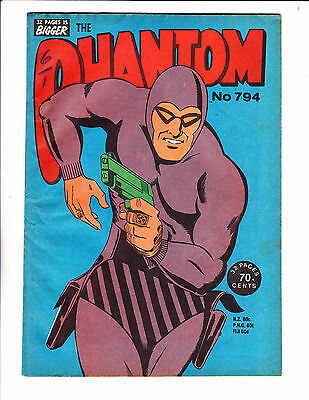 "Phantom No 794-1984- Australian- ""Running With Pistol Cover!   """