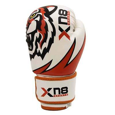 XN8 Kid Boxing Gloves MMA Sparring Grappling Fight Punch Bags Muay Thai Training