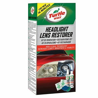 Headlight Lens Restorer Car Care Cleaning Accessories - Turtle Wax 51768