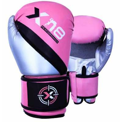 XN8 Boxing MMA Gloves Punch Bag Training Mitts Sparring Muay Thai Focus Exercise