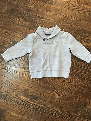Old Navy Baby Boy Sweater 18-24 Months Gray