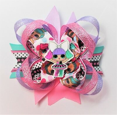 Lol Surprise Cartoon Stacked Boutique Bow - Girls' Accessories  - Handmade