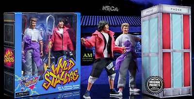 """Neca - Bill & Ted - Excellent Adventure 8"""" Clothed 2-Action Pack  - Neu/ovp"""