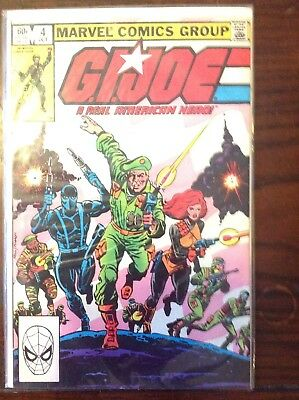G.I. Joe, A Real American Hero #4 (Oct 1982, Marvel)