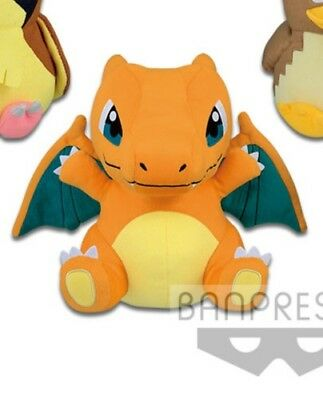 *US Seller* BANPRESTO Pokemon Plush Charizard (Lizardon) 25cm