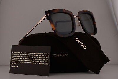 a46169dcdba TOM FORD FT0573 Lara-02 Sunglasses Havana w Smoke Lens 55A TF573 -  219.00