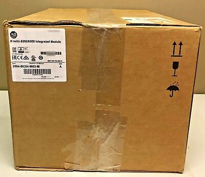 New Allen-Bradley 2094-BC04-M03-M /A Integrated Axis Module 400/460V 30A 28kW