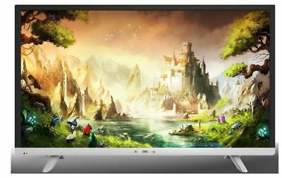 SMART TV 28 Pollici Televisore Nordmende LED HD T2 Android WiFi ND28S3000JLX ITA