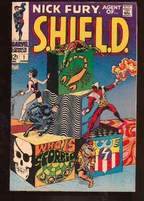 Nick Fury: Agent of SHIELD (1968 series) #1 in Fine + condition. Marvel comics