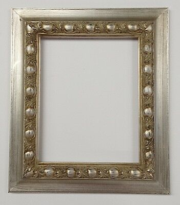Picture Frame 8x10 Vintage Shabby Chic French Country Rustic Silver