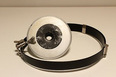 "Antique  Collectible Ww2 Era Medical Doctor Head Light Reflector Mirror""Anketta"""