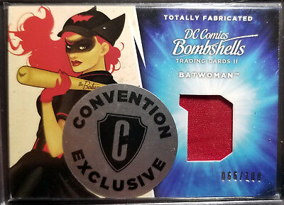 Cryptozoic DC Bombshells Convention Exclusive Patch TF3 Batwomen 66/100