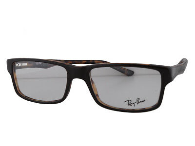 25fb40bc430 RAY BAN RX5245 Eyeglasses 52-17-140 Havana w Demo Clear Lens 5082 ...