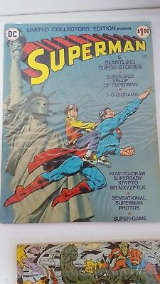 LIMITED COLLECTORS' EDITION C-38 F, SUPERMAN Treasury, DC Comics 1975