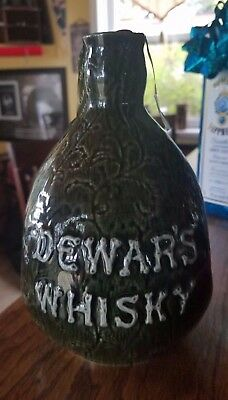 Dewars centennial flagon limited edition bottle with box and topper