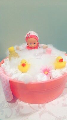 Let's Go For A Bubble Bath Baby Girl Shower Gift!