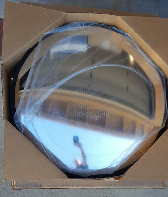 """See-All 26"""" Indoor or Outdoor Glass Round Convex Safety Mirror -NIB Security"""