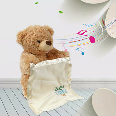 2018 Play Peek A Boo Talking Teddy Bear By Gund New With Tags Dfg