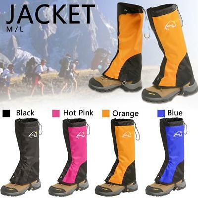 Waterproof Ski Snow Legging Leg Gaiters Boot Shoe Cover Hunting Hiking Camping