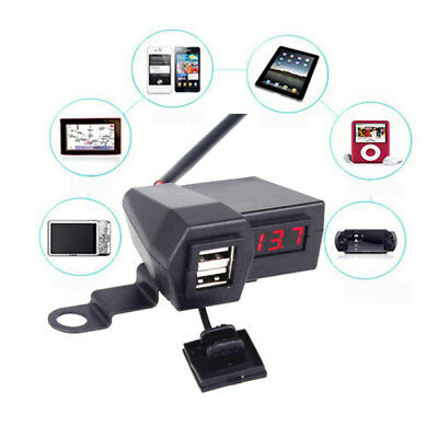 New Waterproof Motorcycle Multi-functional USB Charger Cellphone Power Adapter