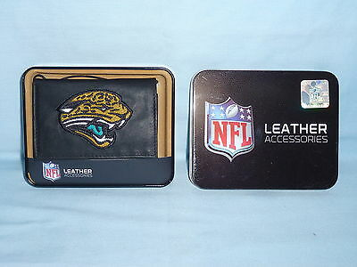 bea126780 CAROLINA PANTHERS embroidered Leather TriFold Wallet NEW black ...