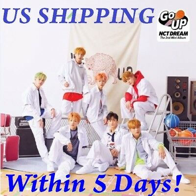 US SHIPPING NCT Dream[We Go Up] 2nd Mini Album CD+Book+Card+Sticker
