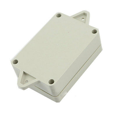 Waterproof Cover White Plastic Electronic Project Enclosure Case Electrical Box
