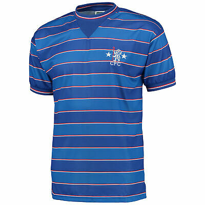 Chelsea 1984 Football Home Jersey Retro Shirt Tee Top Mens