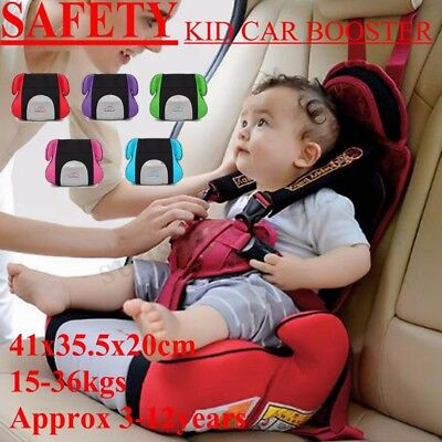 Travel Car Seat Booster Safety Comfort Kids Baby Child Comfortable Backless US