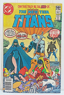 THE NEW TEEN TITANS #2 DC Comics 1st App of Deathstroke Terminator George Perez