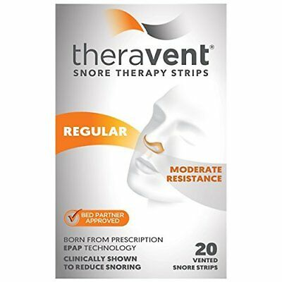 Theravent Snore Therapy, Regular Strength, 20 Count